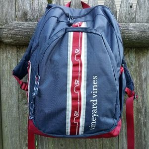 Vineyard Vines Navy Blue Tech Backpack